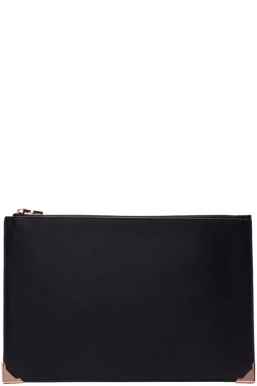 Alexander Wang - Black Leather Prisma Pouch