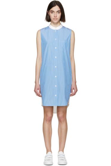 Alexander Wang - Blue & White Striped Shirt Dress