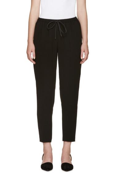 Alexander Wang - Black Tapered Lounge Pants