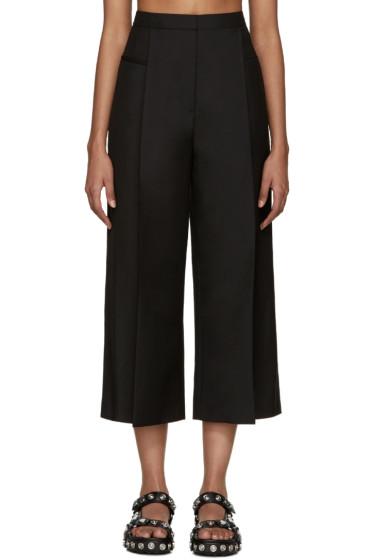 Alexander Wang - Black Wool Cropped Trousers