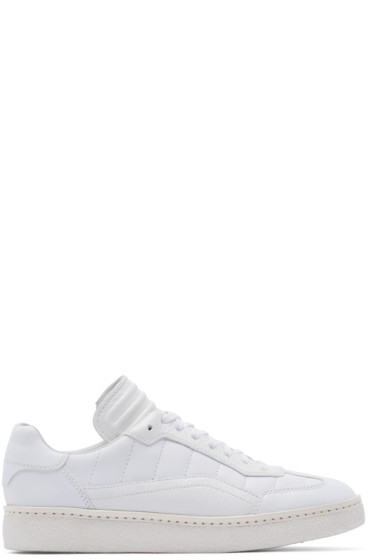 Alexander Wang - White Leather Eden Sneakers