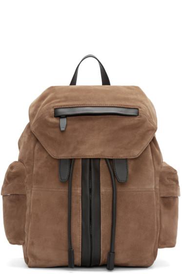Alexander Wang - Camel Suede Marti Backpack