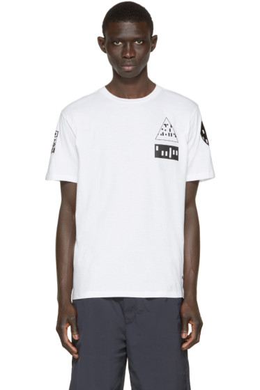Alexander Wang - White Etching Scanner T-Shirt