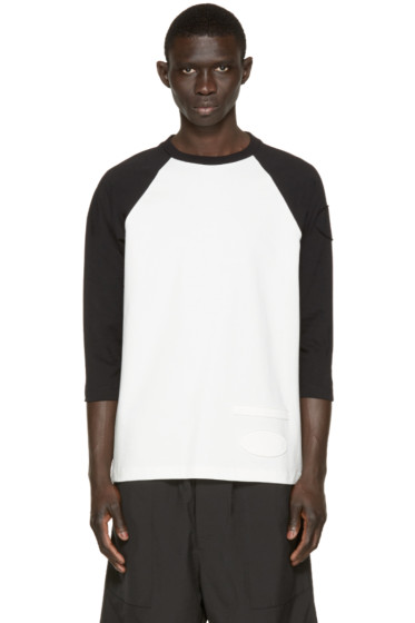 Alexander Wang - Off-White & Black Patch T-Shirt