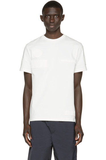 Alexander Wang - Off-White Patch T-Shirt