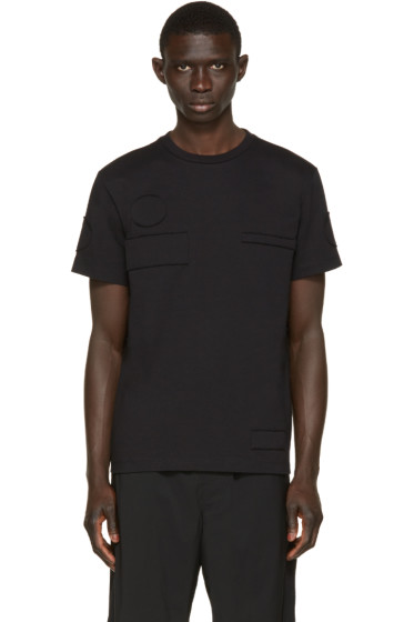 Alexander Wang - Black Patch T-Shirt