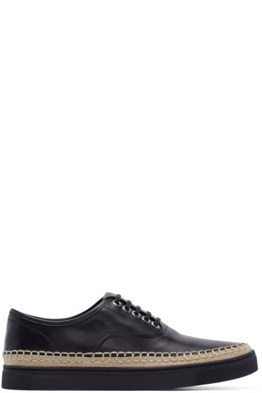 Alexander Wang - Black Leather Asher Sneakers