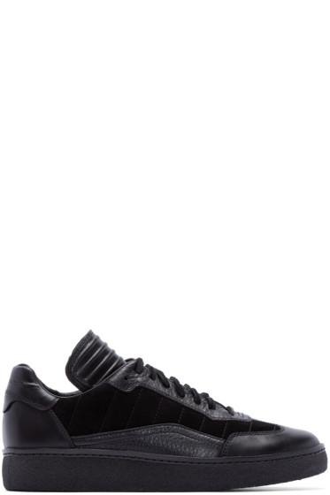 Alexander Wang - Black Leather & Suede Eden Sneakers