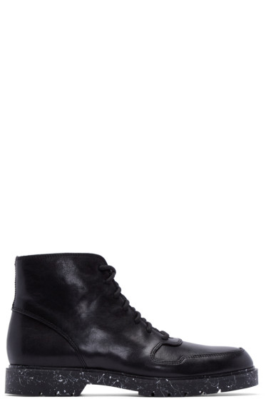 Alexander Wang - Black Leather Kaleb Boots