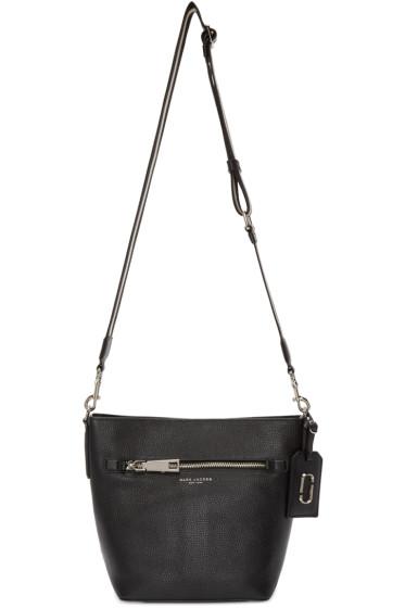 Marc Jacobs - Black Leather Gotham City Bucket Bag