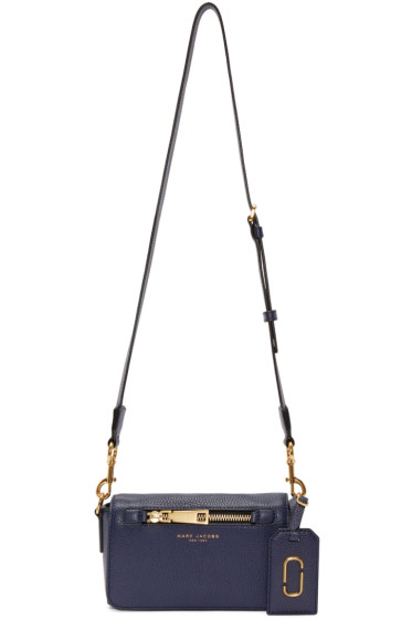 Marc Jacobs - Navy Leather Gotham City Bag