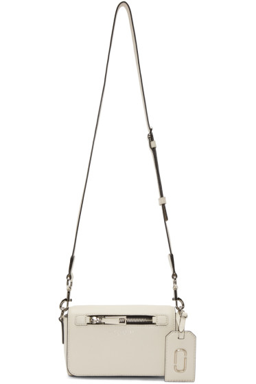 Marc Jacobs - Off-White Leather Gotham City Bag
