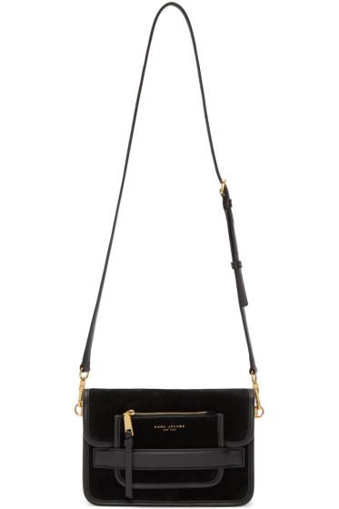 Marc Jacobs - Black Suede Medium Madison Bag