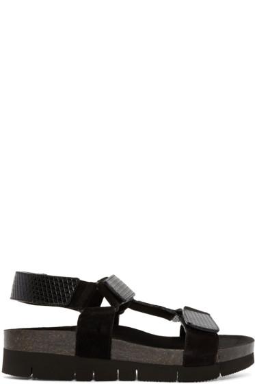 Marc Jacobs - Black Multi-Strap Sandals