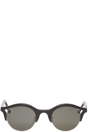 Super - Black Round Filo Sunglasses
