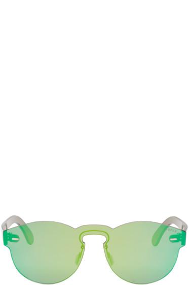 Super - Green Tuttolente Paloma Sunglasses