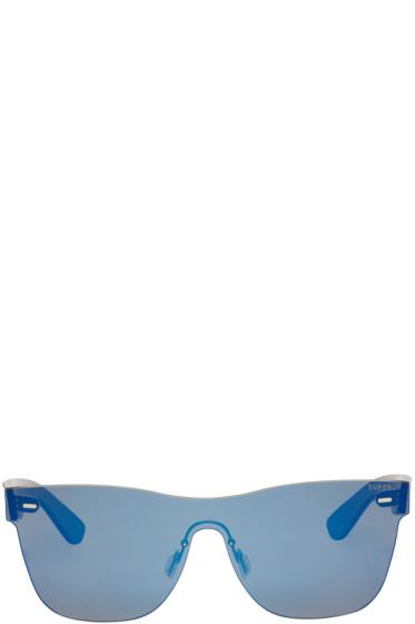 Super - Blue Tuttolente Classic Sunglasses