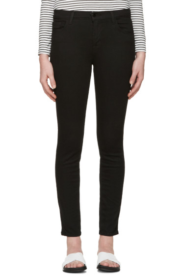 J Brand - Black Skinny 811 Photo Ready Jeans