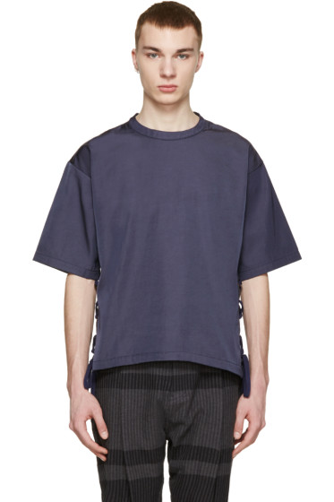 Robert Geller - Navy Louis T-Shirt
