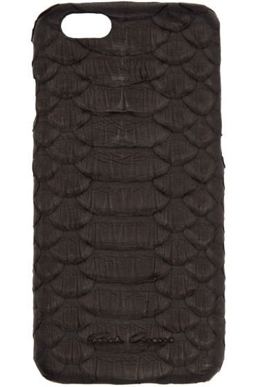 Rick Owens - Black Python iPhone 6 Case