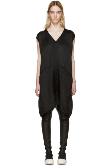 Rick Owens - Black King Bodybag Jumpsuit