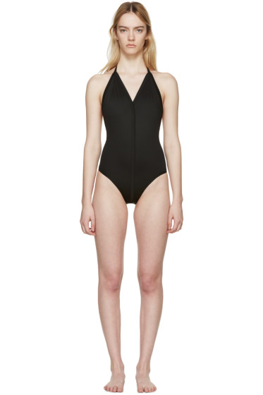 Rick Owens - Black T-Strap Swimsuit