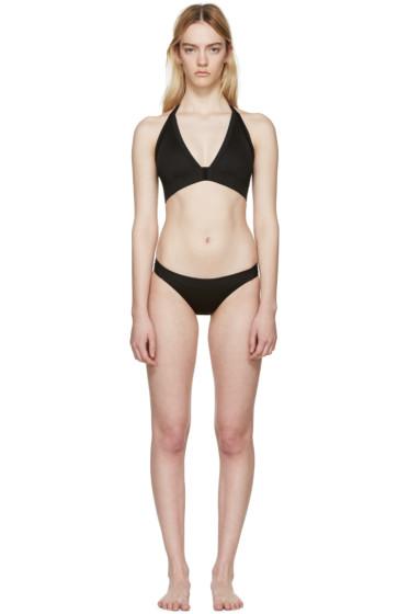 Rick Owens - Black T-Strap Bikini