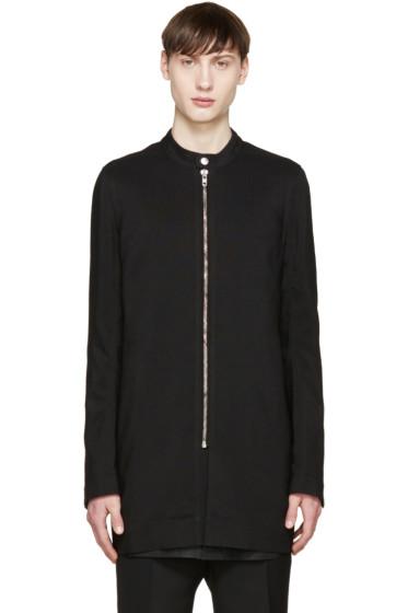 Rick Owens - Black Wool Coat