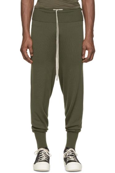 Rick Owens - Green Drawstring Lounge Pants