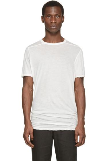 Rick Owens - White Level T-Shirt