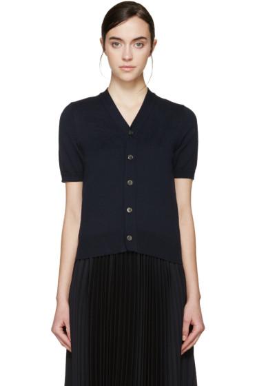 Comme des Garçons - Navy Short Sleeve Cardigan