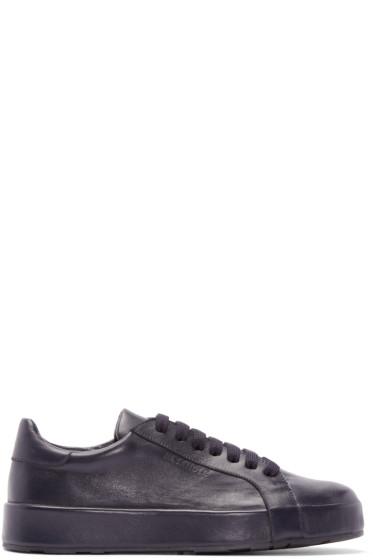 Jil Sander - Navy Low-Top Sneakers
