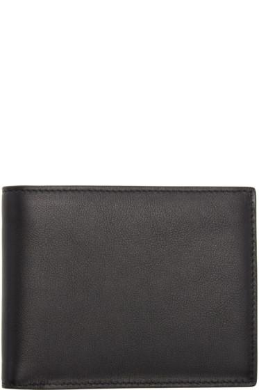 Jil Sander - Black Leather Bifold Wallet