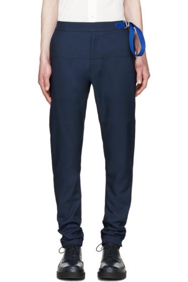 Jil Sander - Navy Cropped Trousers