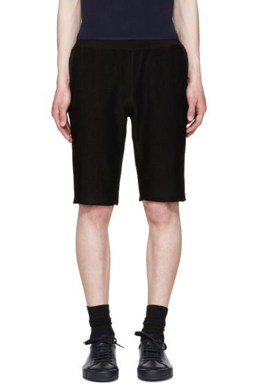 Jil Sander - Black Jersey Shorts