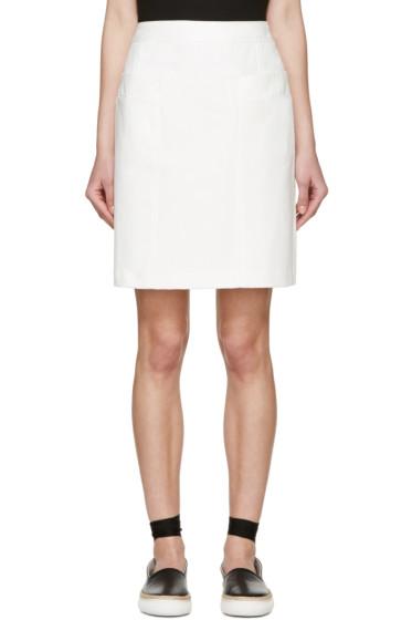 A.P.C. - White Portofino Miniskirt