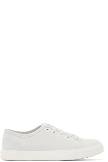 A.P.C. - Grey Suede Pam Tennis Sneakers