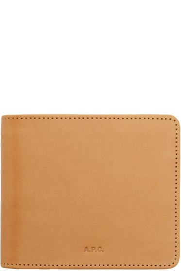 A.P.C. - Tan Jacket Wallet