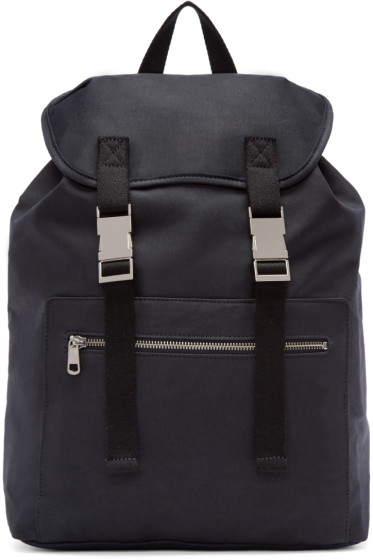 A.P.C. - Navy Canvas Jamie Backpack