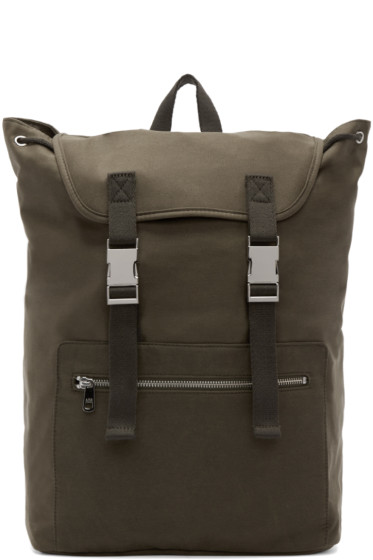 A.P.C. - Green Canvas Jamie Backpack