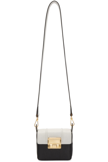 Lanvin - Black & White Mini Jiji Bag