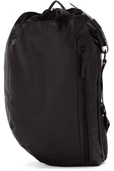 Lanvin - Black Leather Single Strap Backpack