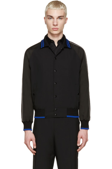 Lanvin - Black Baseball Jacket