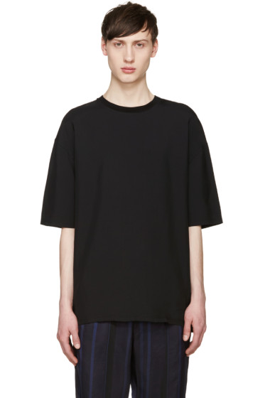 Lanvin - Black Oversized T-Shirt