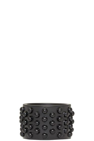 Alexander McQueen - Black Liliputs Ring