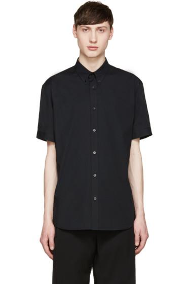 Alexander McQueen - Black Poplin Shirt