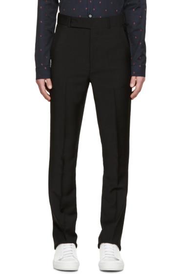Paul Smith - Black High-Waisted Trousers