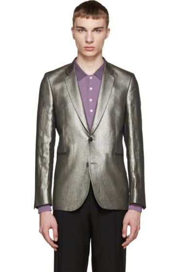 Paul Smith - Silver Linen Blazer