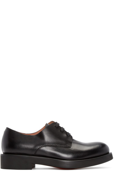 Paul Smith - Black Leather Thick Sole Derbys
