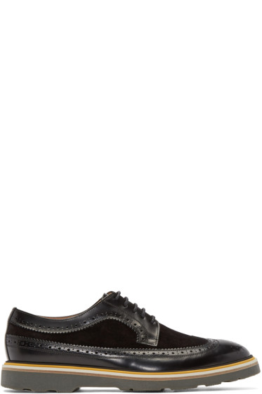 Paul Smith - Black Leather Grand Brogue